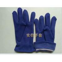 纯棉绒手套,混纺绒手套,单面绒布手套