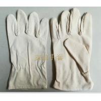 帆布点塑手套,防滑帆布手套,胶点滴塑帆布手套