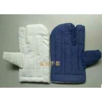 单指棉手套,二指隔热耐高温棉手套,五指耐高温隔热棉手套
