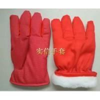 人造毛防滑棉手套 人造毛滴塑棉手套 人造毛点胶棉手套