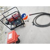 防汛柴油打桩机--曲轴打桩机植桩机厂家