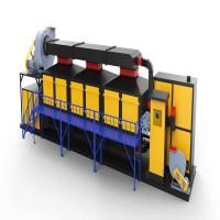 两万风量催化燃烧设备处理喷漆房废气占地尺寸