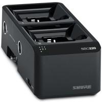 Shure SBC220 舒尔2单元联网插座充电器