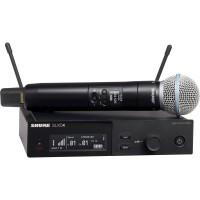 Shure SLXD24/BETA58A 舒尔手持无线话筒