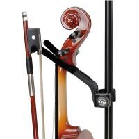 K&M 15580-000-55 小提琴支架 可安装至竖杆上