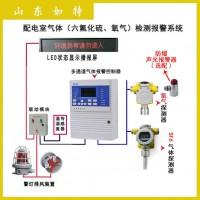 电力配电房用sf6泄漏报警系统 O2/SF6气体浓度检测